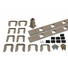 6 Ft. - Infill Rail Kit for Square Balusters - Stair - Gravel Path