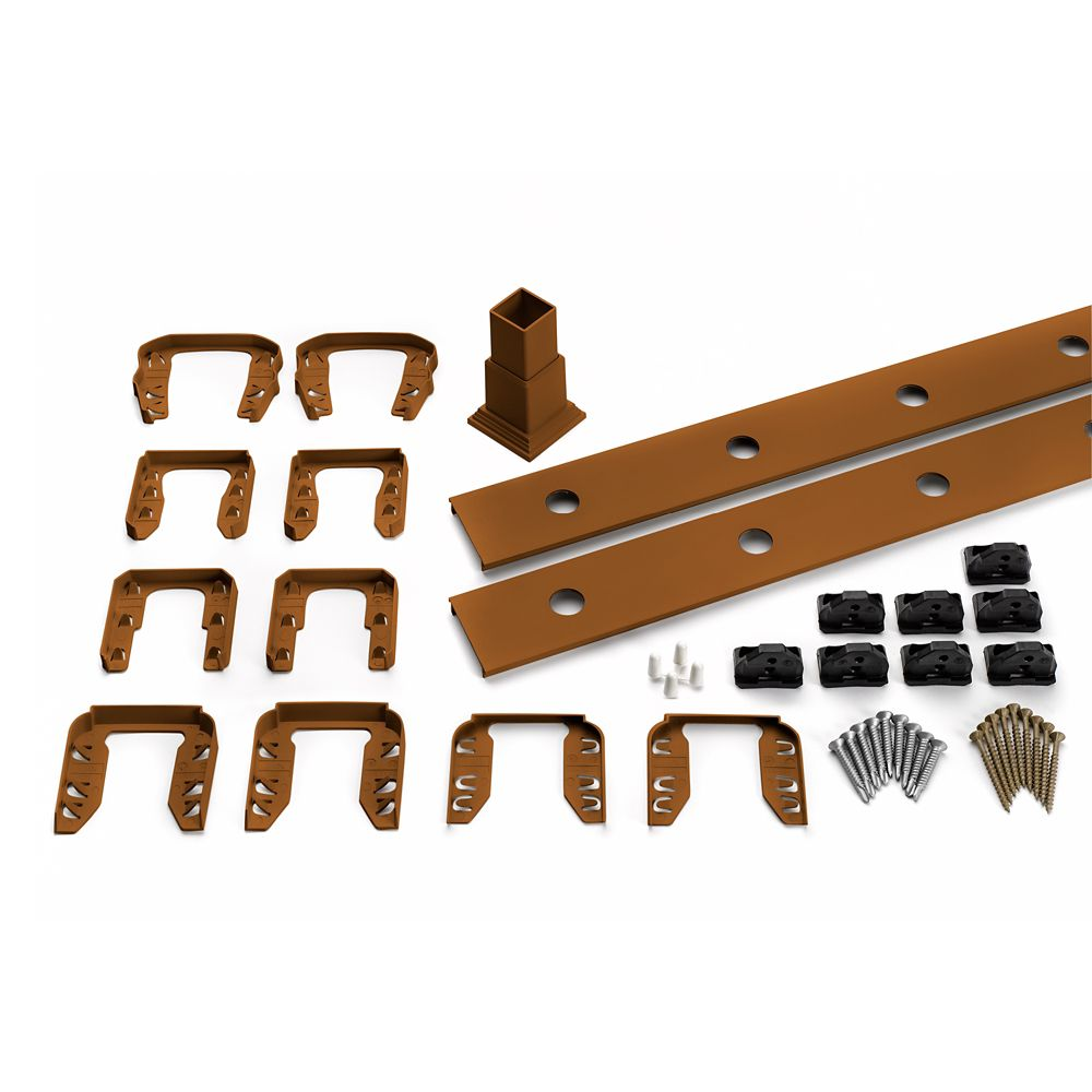 Trex 6 Ft. - Infill Rail Kit for Round Aluminium - Balusters - Stair Tree House
