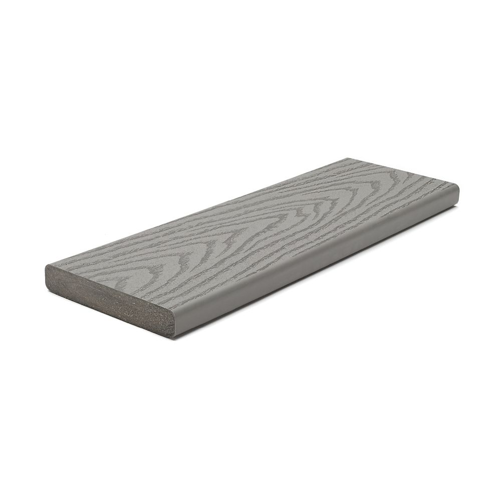 Trex 20 ft select composite capped square decking for Capped composite decking prices