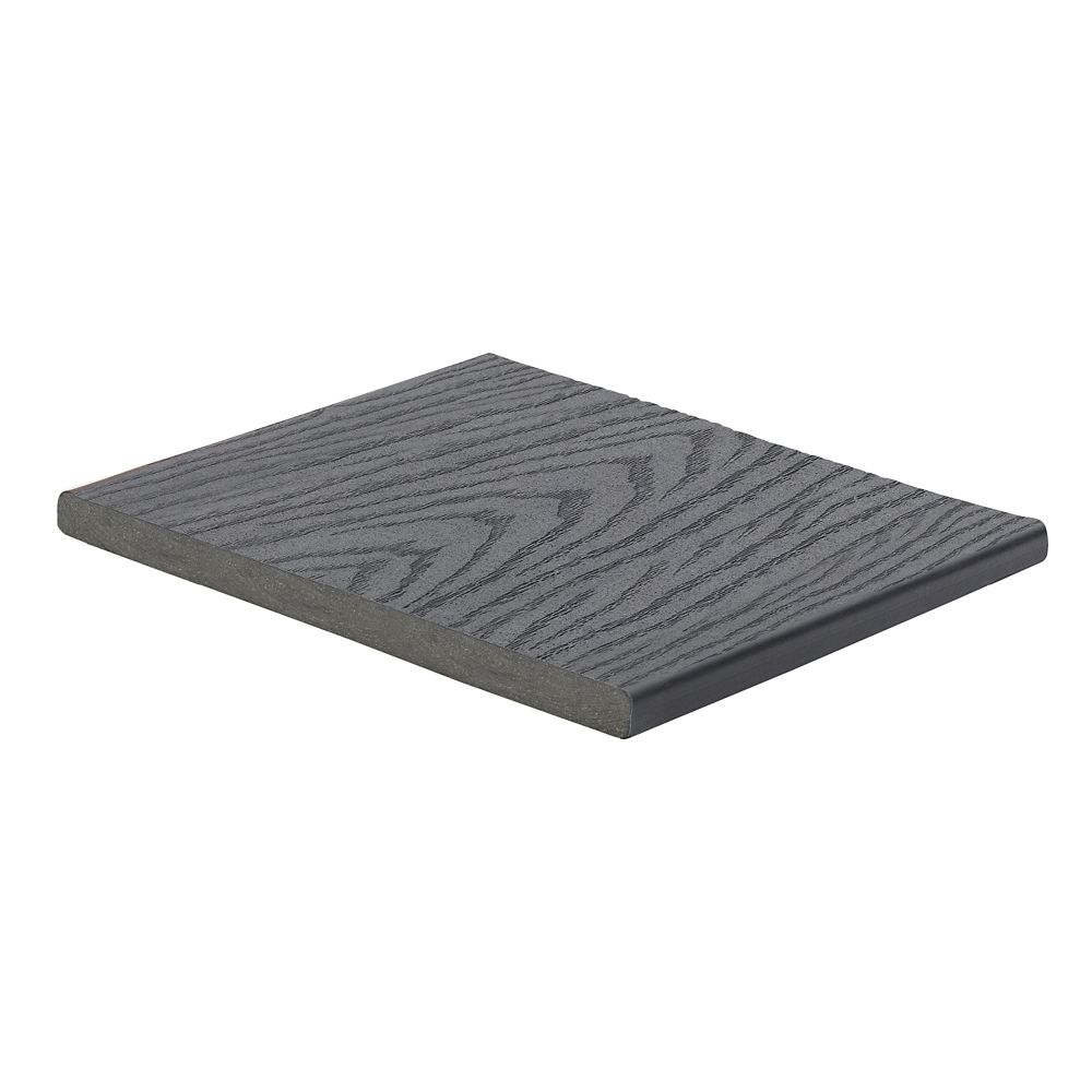12 Ft. -  Select Composite Capped Fascia Winchester Grey - 1  In. x 12  In.