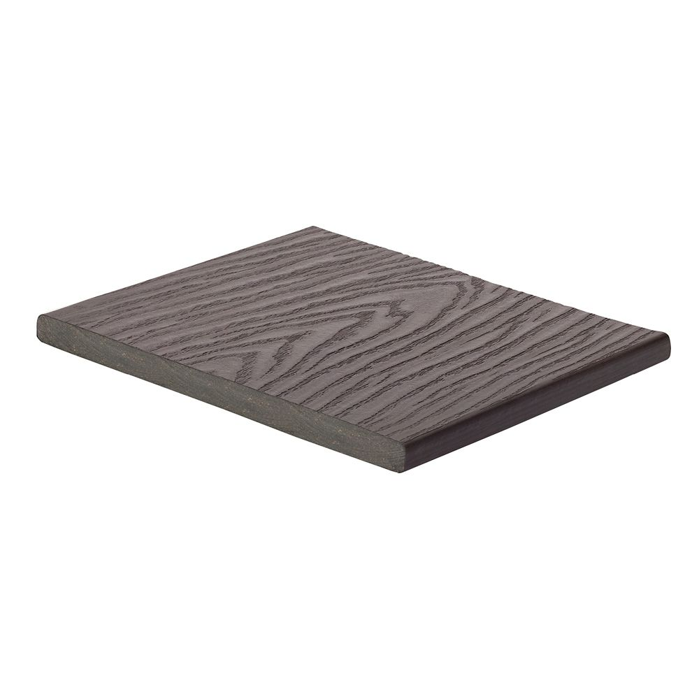 12 Ft. -  Select Composite Capped Fascia Woodland Brown - 1  In. x 12  In.
