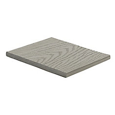 12 Ft. - Select Composite Capped Fascia Pebble Grey - 1 In. x 12 In.