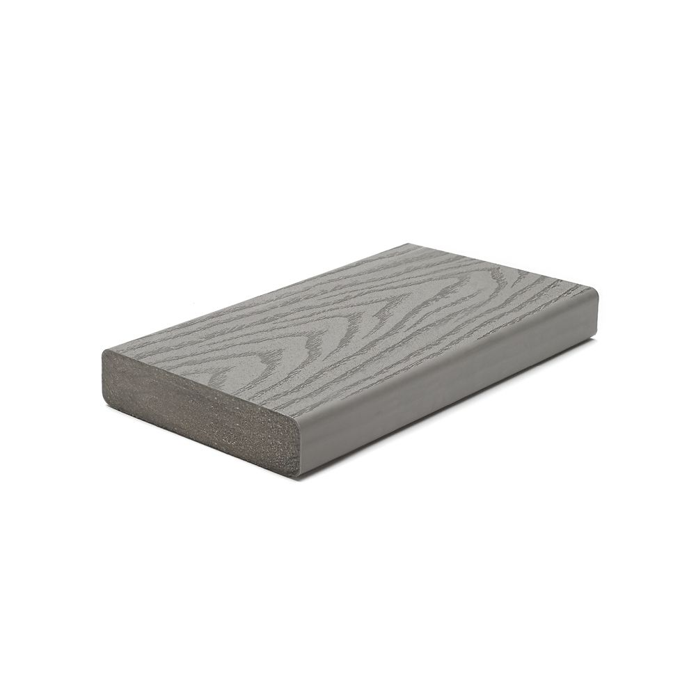 16 Ft. - Select 2x6 Composite Capped Square Decking - Pebble Grey