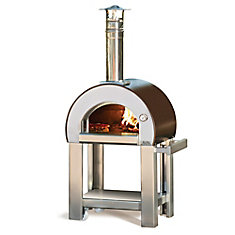 Forno 5 Outdoor Wood Burning Pizza Oven with Cart