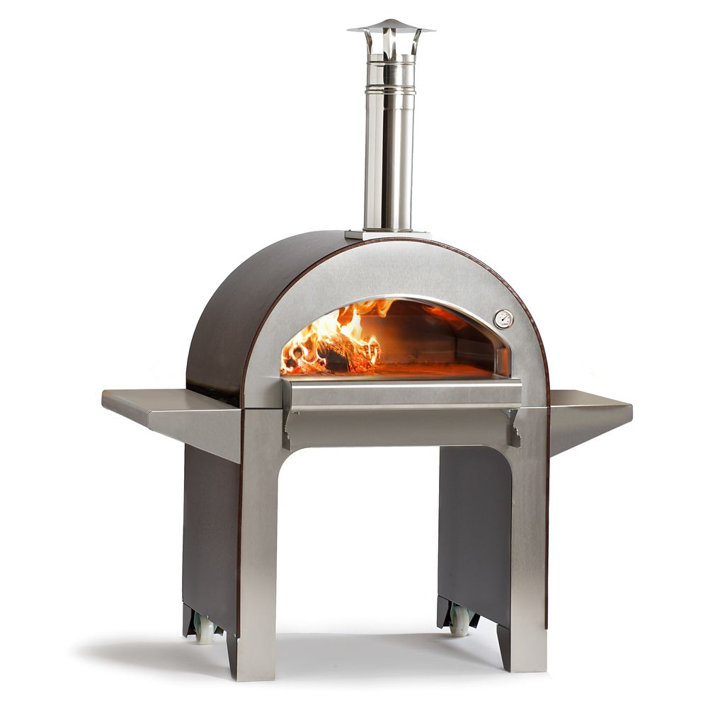 Four à pizza au bois pour lextérieur Forno 4. Pré-assemblé
