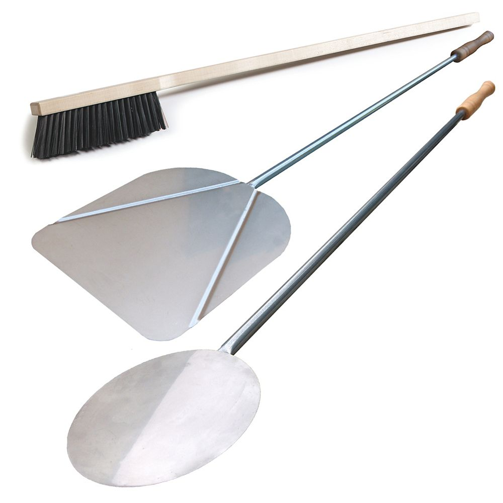 3 - Piece Deluxe Italien Pizza Peel ensemble