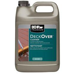 Behr Premium Nettoyant pour surfaces recouvertes de Deckover, 3,79 L