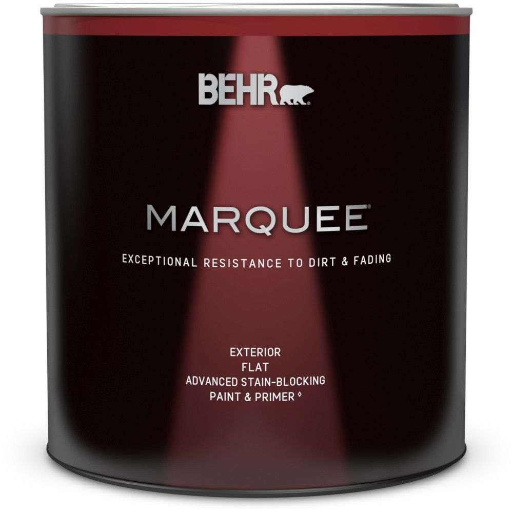 Marquee<sup>®</sup> 946 mL Deep Base Flat Exterior Paint with Primer