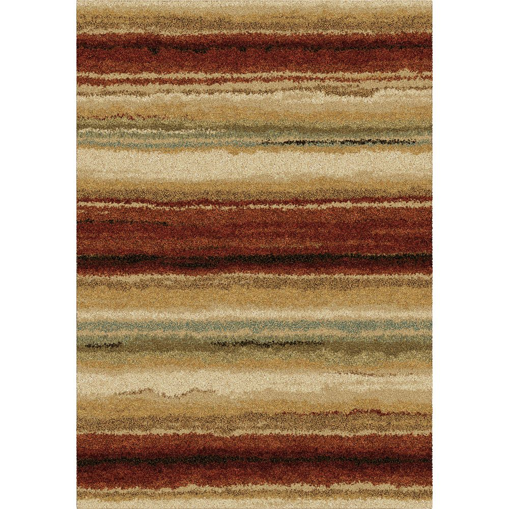 5 Feet 3 Inch x 7 Feet 6 Inch Sundown Area Rug Multi
