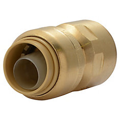 SharkBite Connector - 1/2 In. x 1/2 In. FNPT