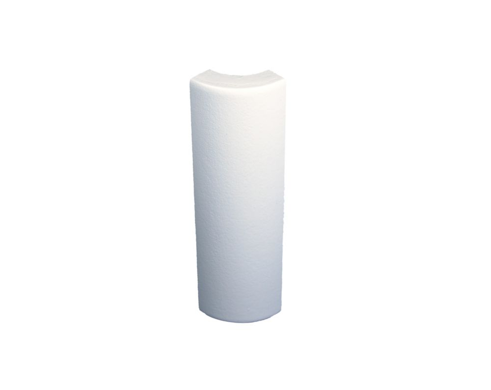 Primed Alder Soft Base Corner 1/2 Inches x 6 Inches