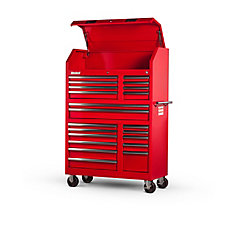 20 Drawer Tool Tower, Red (42 Inch)