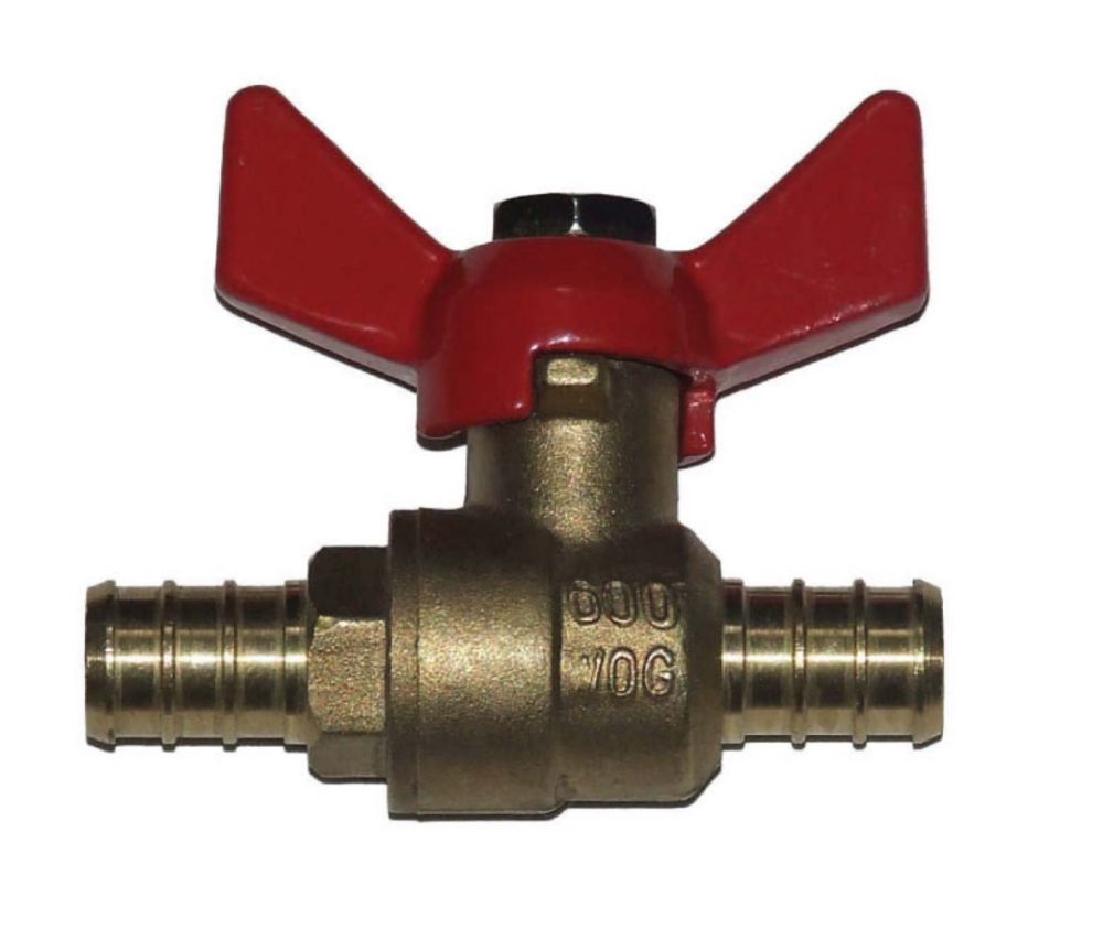 Pex Full Port Ball Valve 1/2 Inch