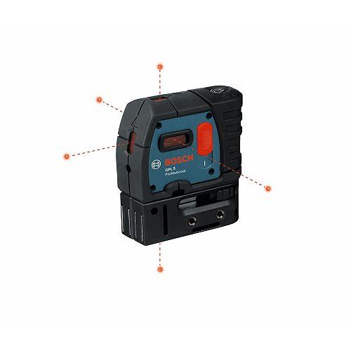 Équerre laser à 5 points avec mise à niveau automatique