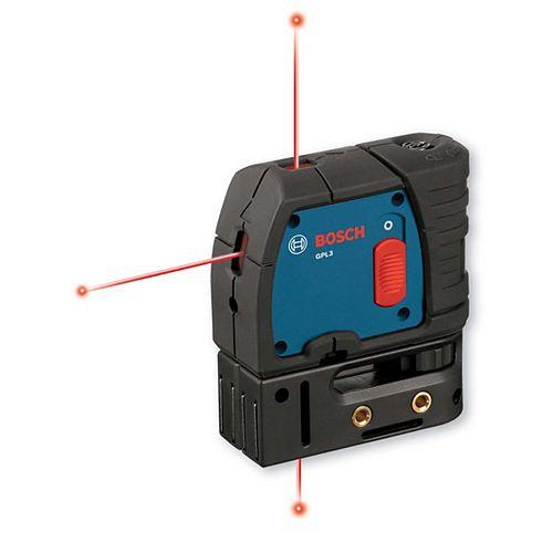 Bosch Laser d'alignement à 3 points à mise à niveau automatique