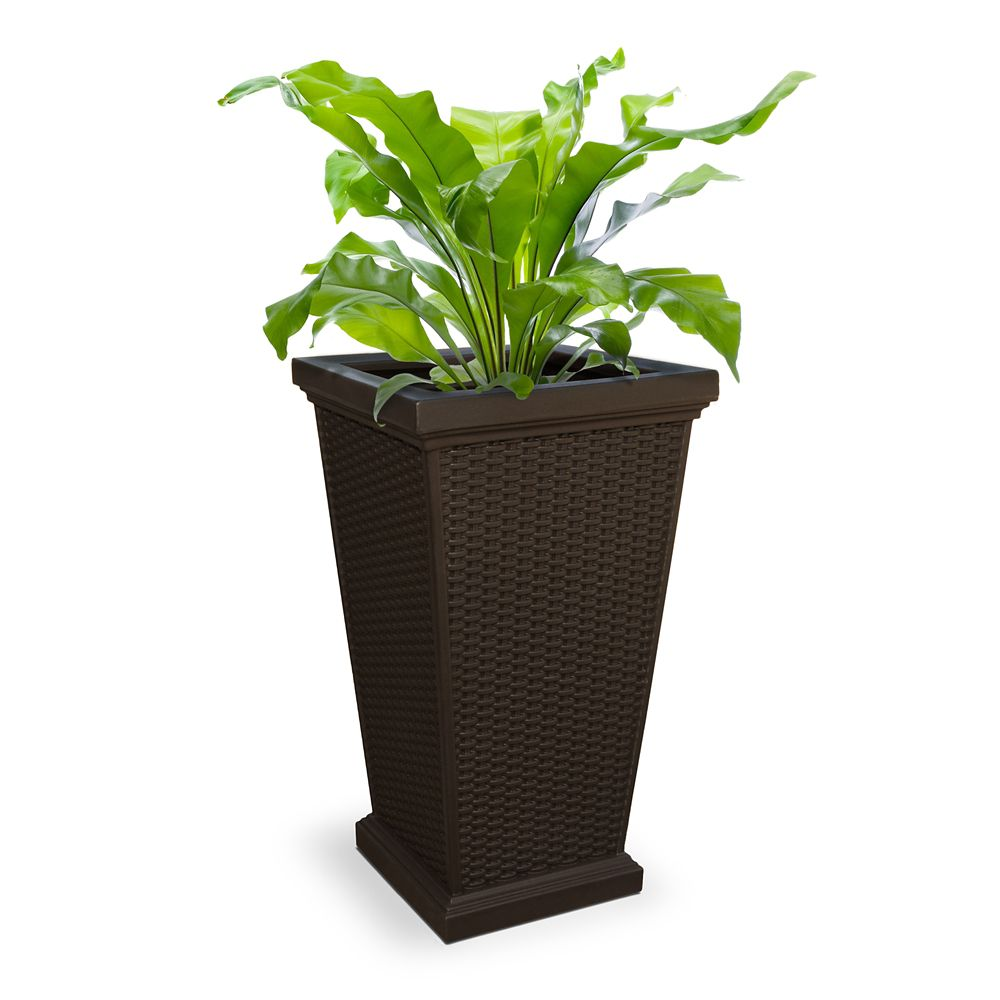 Wellington Tall Planter Espresso