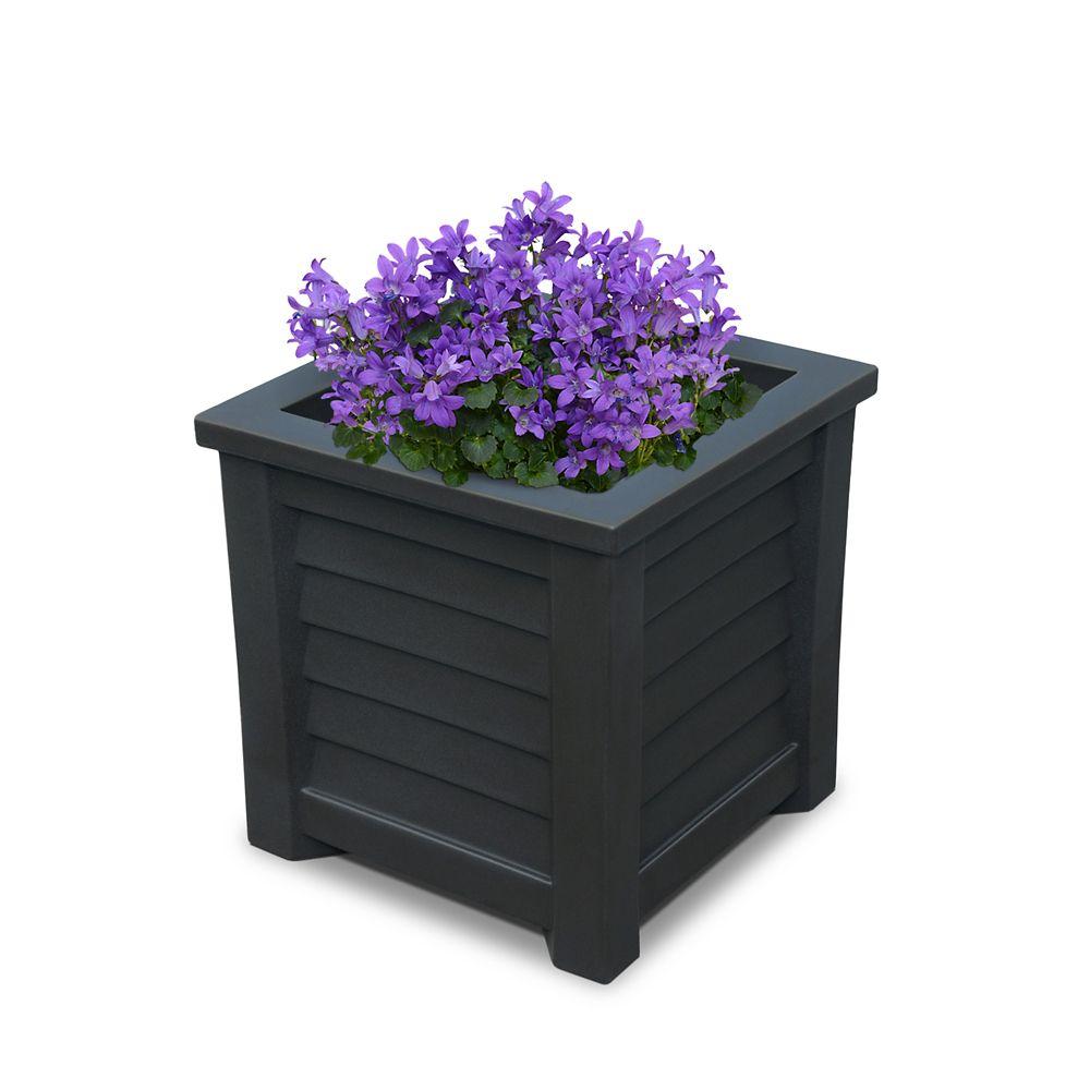 Lakeland 16x16 Planter Black