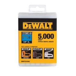 DEWALT Staple 1/4 Inch. 5000pk