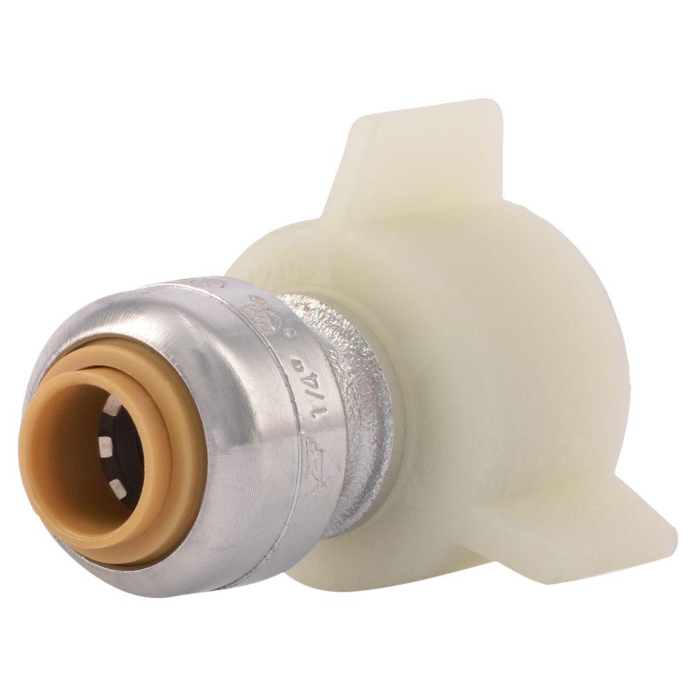 Sb Faucet Conn 1/4 Inch X 1/2 Inch Fv Rt Lf