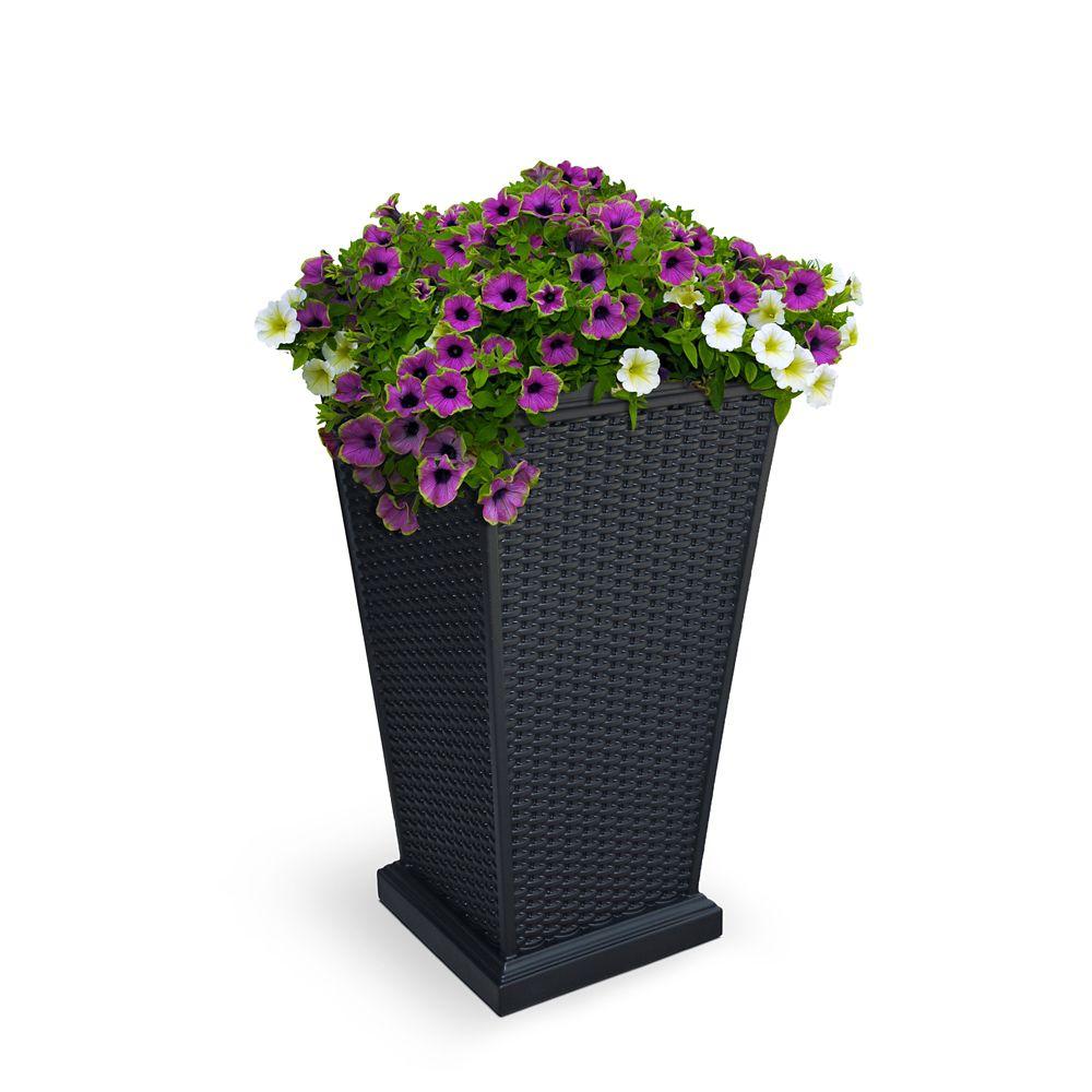 Jardinière haute Wellington � Noir