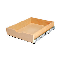 Real Solutions 17 inches Wood Mulit-Use Basket