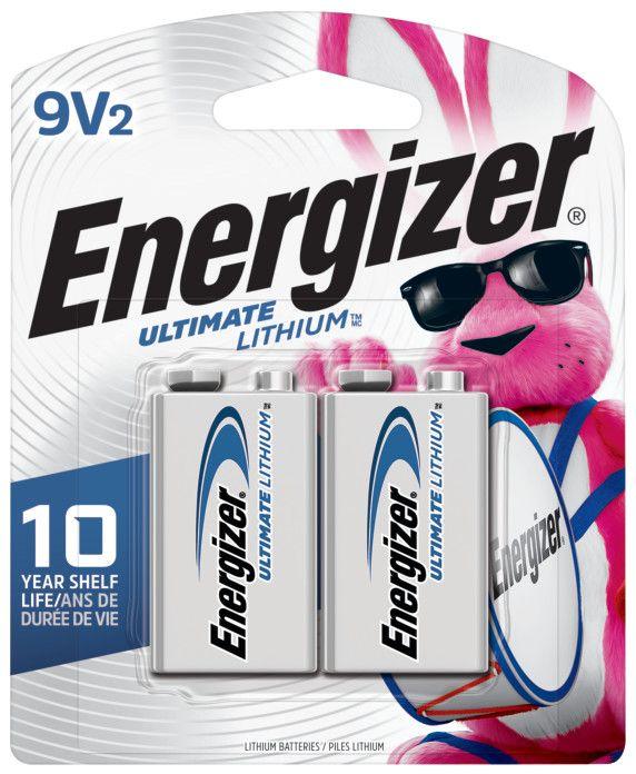 Batteries The Home Depot Canada Energizer E92 Aaa Bp 4 Enr L522bp2 Ult Lith 9v 2