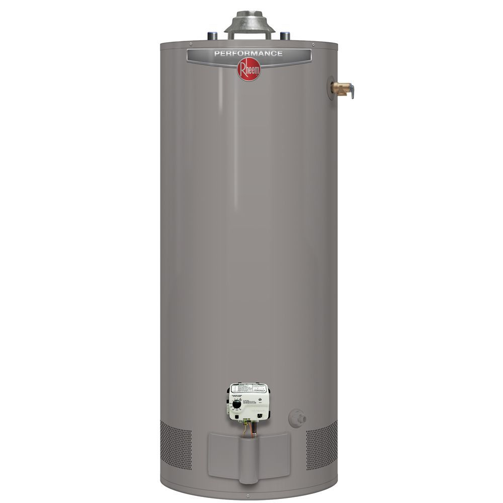 Rheem Performance 40 Gallon Gas Water Heater with 6 Year Warranty (Approved for BC Market)