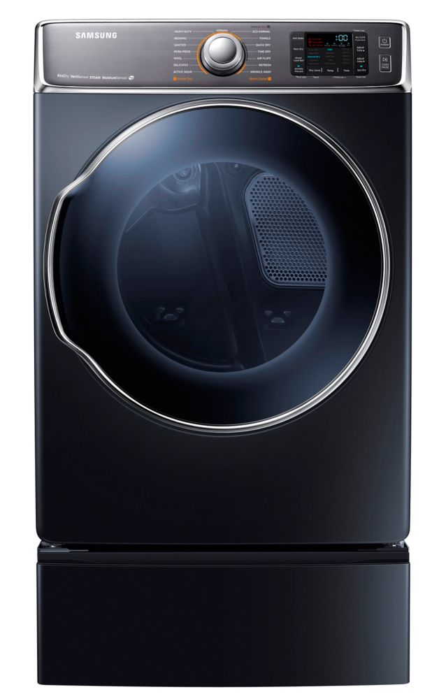 9.5 cu. ft. Front Load Electric Dryer in Onyx