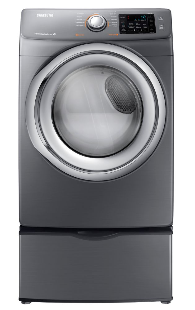 4.8 cu. ft. Front Load Washer in Platinum