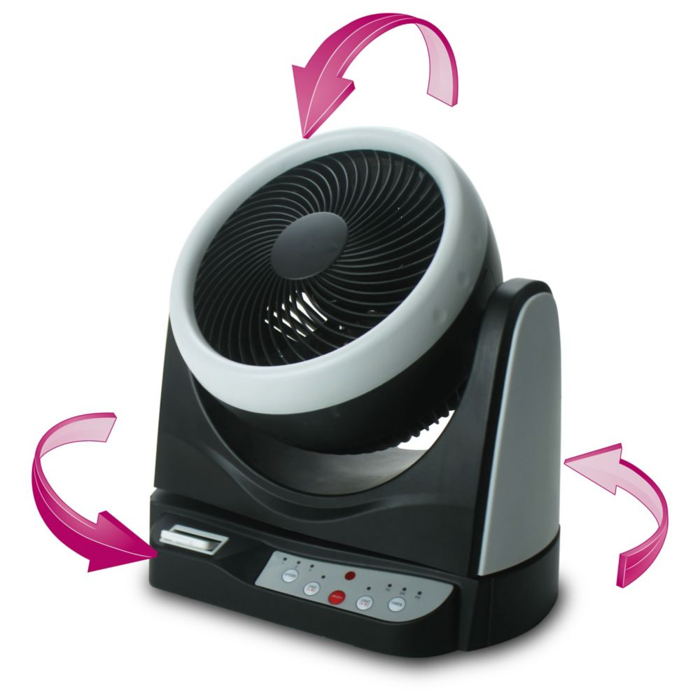 Ventilateur double oscillation 10 Po