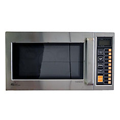 0.9 cu. ft. Commercial Microwave Oven in Stainless Steel