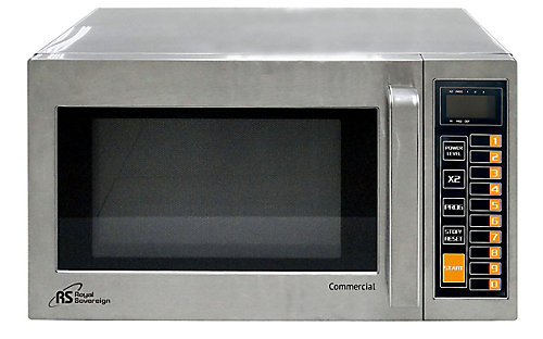 Commercial Microwave Oven In Stainless Steel