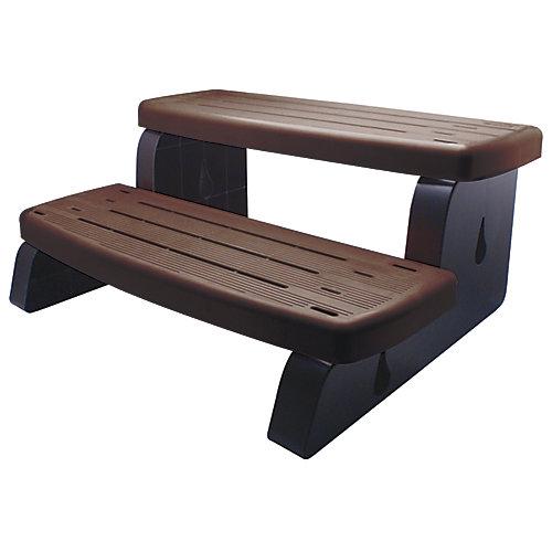 PVC Spa Steps in Brown