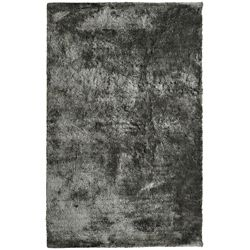 Lanart Rug Loft Shag Grey 6 ft. x 9 ft. Indoor Shag Rectangular Area Rug