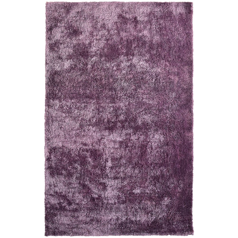 lanart rug tapis prune poils longs gonflants 5 pi x 8. Black Bedroom Furniture Sets. Home Design Ideas