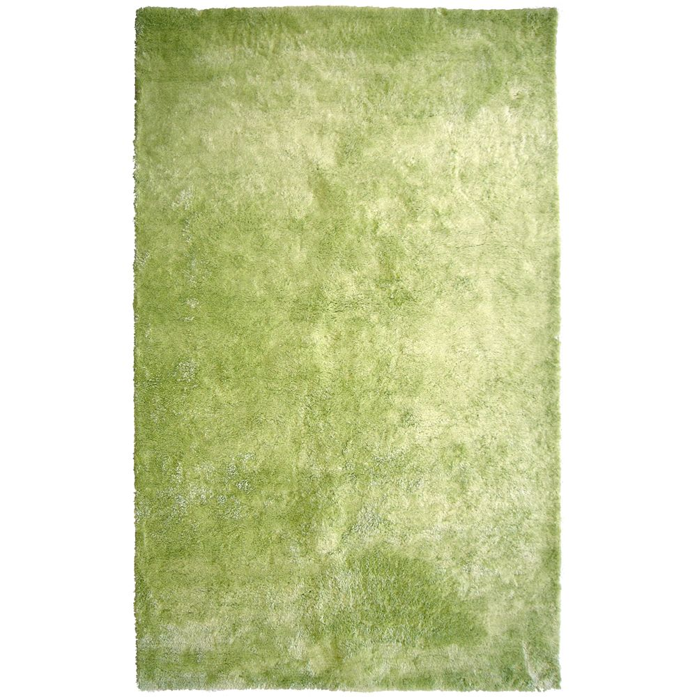Lime Loft Shag 6 Ft. x 9 Ft. Area Rug