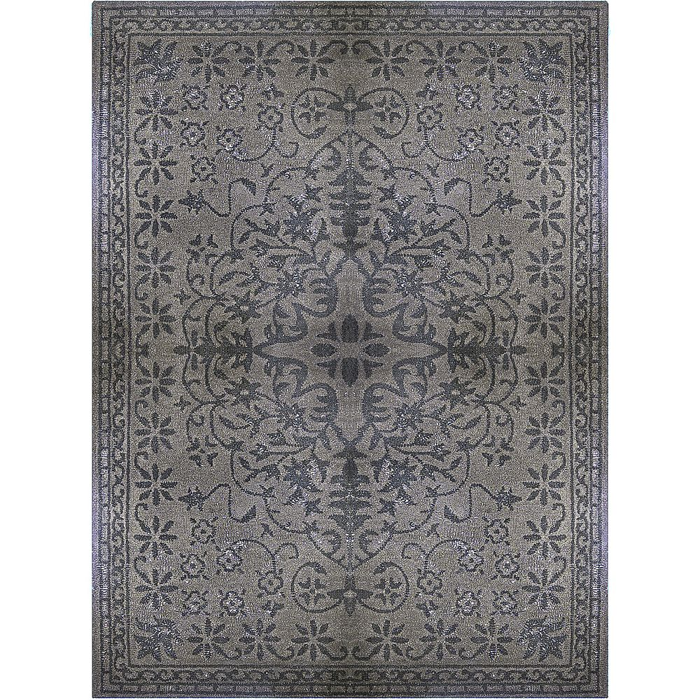 Charcoal Vintage 5 Feet x 8 Feet Area Rug VIN5X8CH Canada Discount