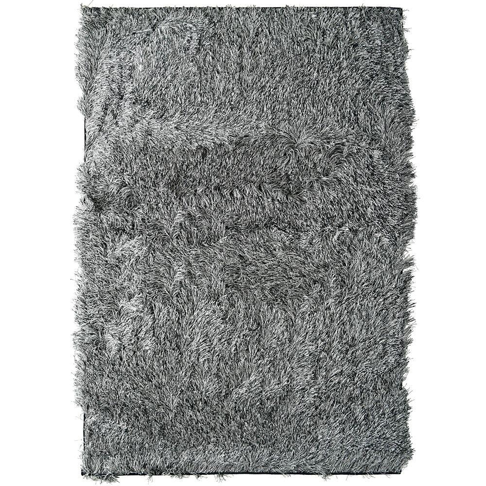 salt pepper rebel shag 3 ft x 5 ft area rug reb3x5sp canada discount. Black Bedroom Furniture Sets. Home Design Ideas