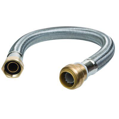 12 in. Water Heater Connector - 3/4 in.