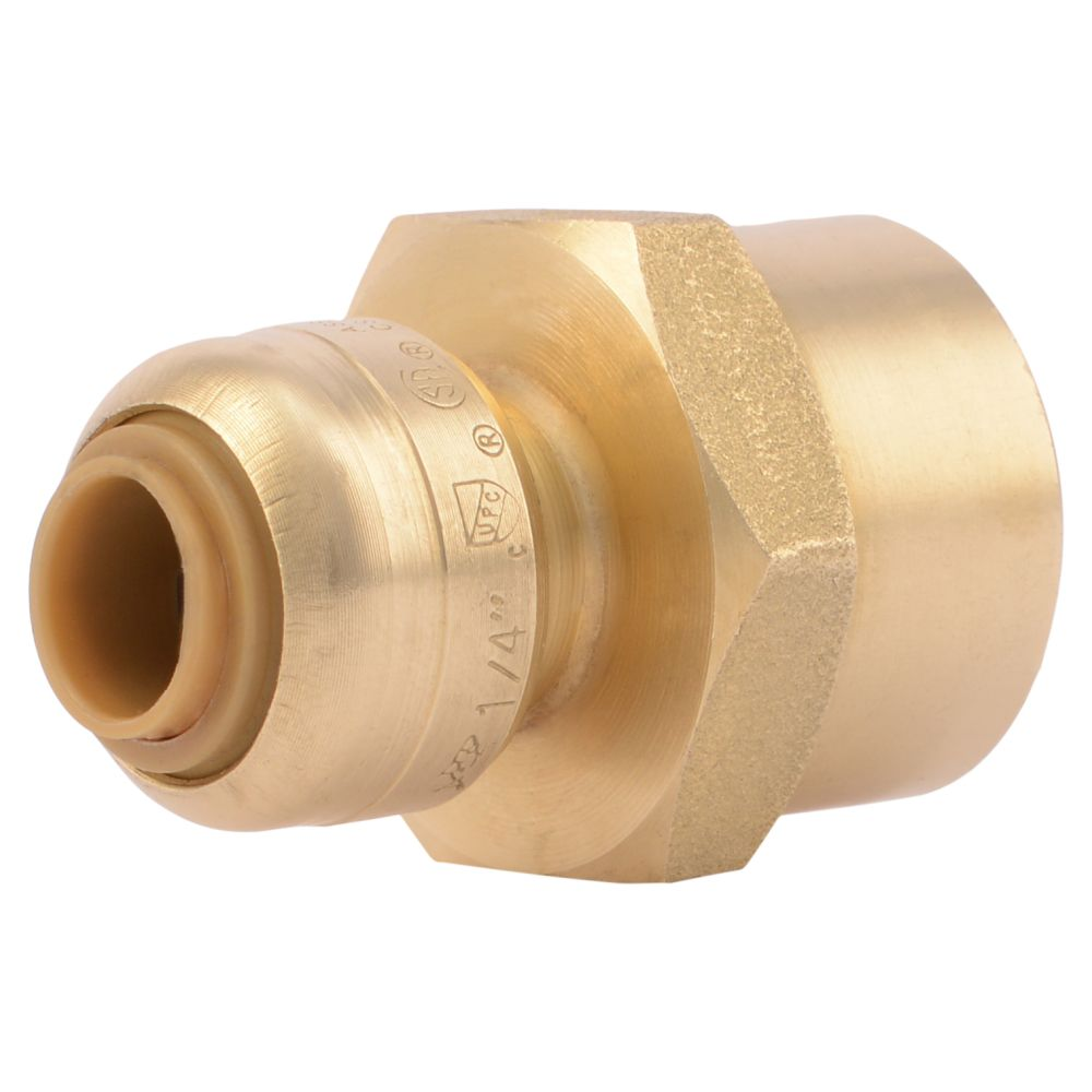 Sb Connector 1/4 Inch  X 1/2 Inch  Fnpt Rt Lf