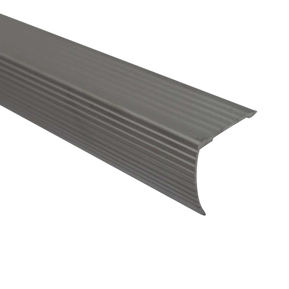 Cinch Stair Edging 36 Inch Satin Silver