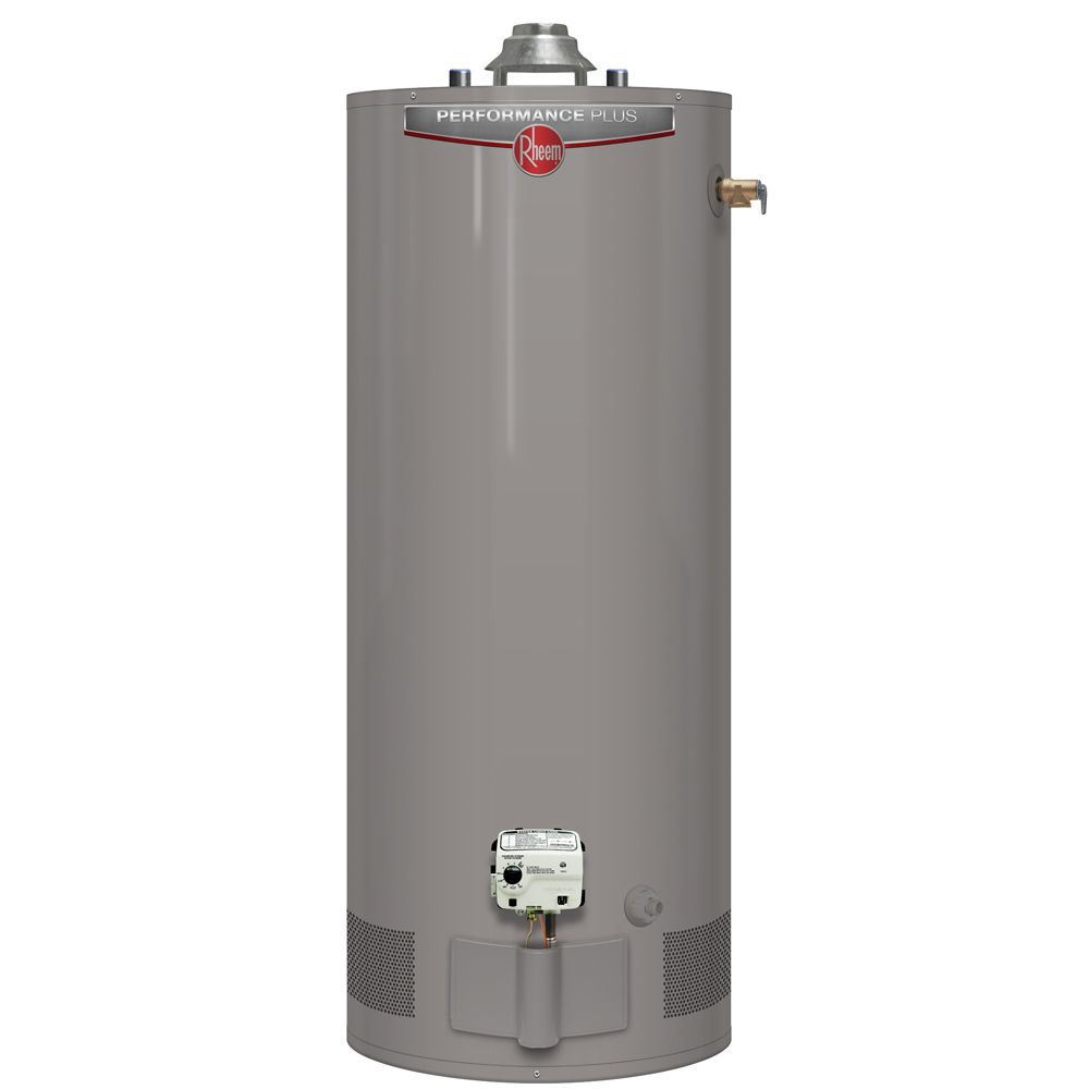 Performance Plus 50 Gal Gas Water Heater with 9 Year Warranty