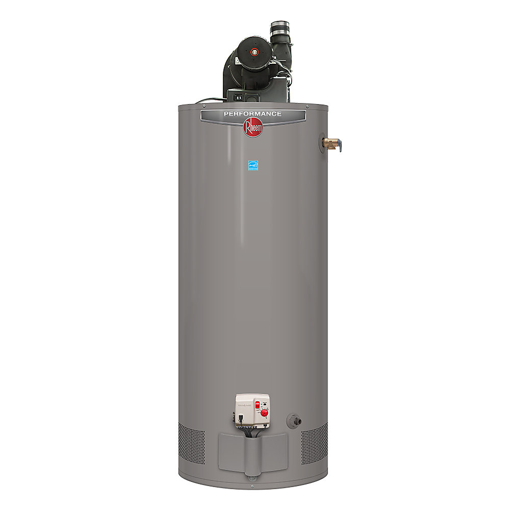 Power Vent Natural Gas Water Heater, 50 Gal
