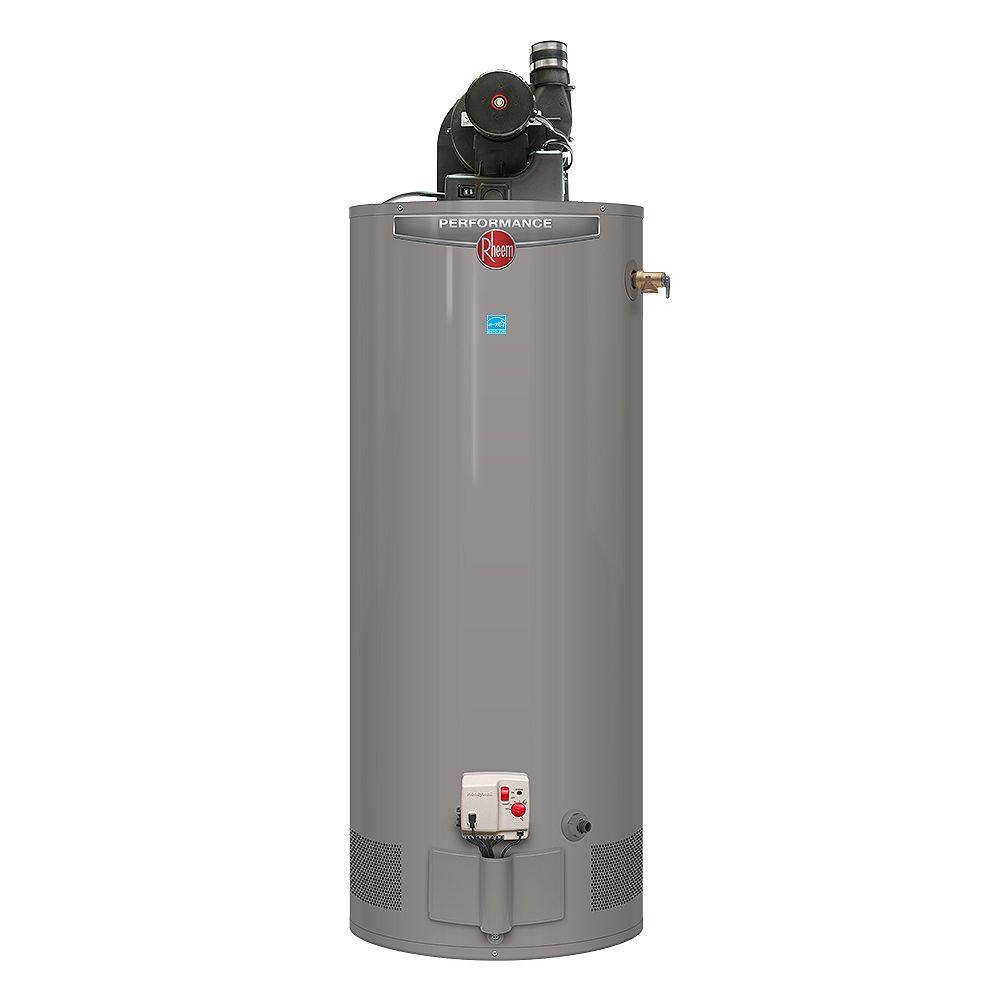 Rheem Power Vent Natural Gas Water Heater, 50 Gal