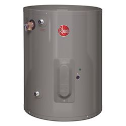 Rheem Point of Use 23 Imperial Gal Electric Water Heater with 6 Year Warranty.