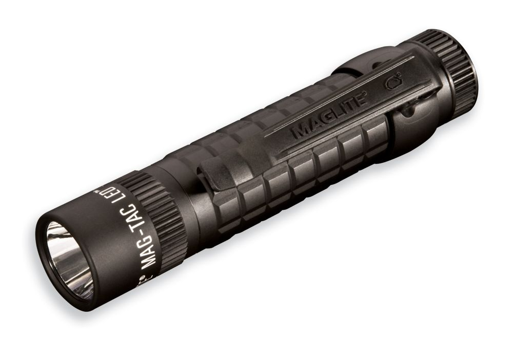 Maglite Mag-Tac 2-Cell LED Flashlight - Black