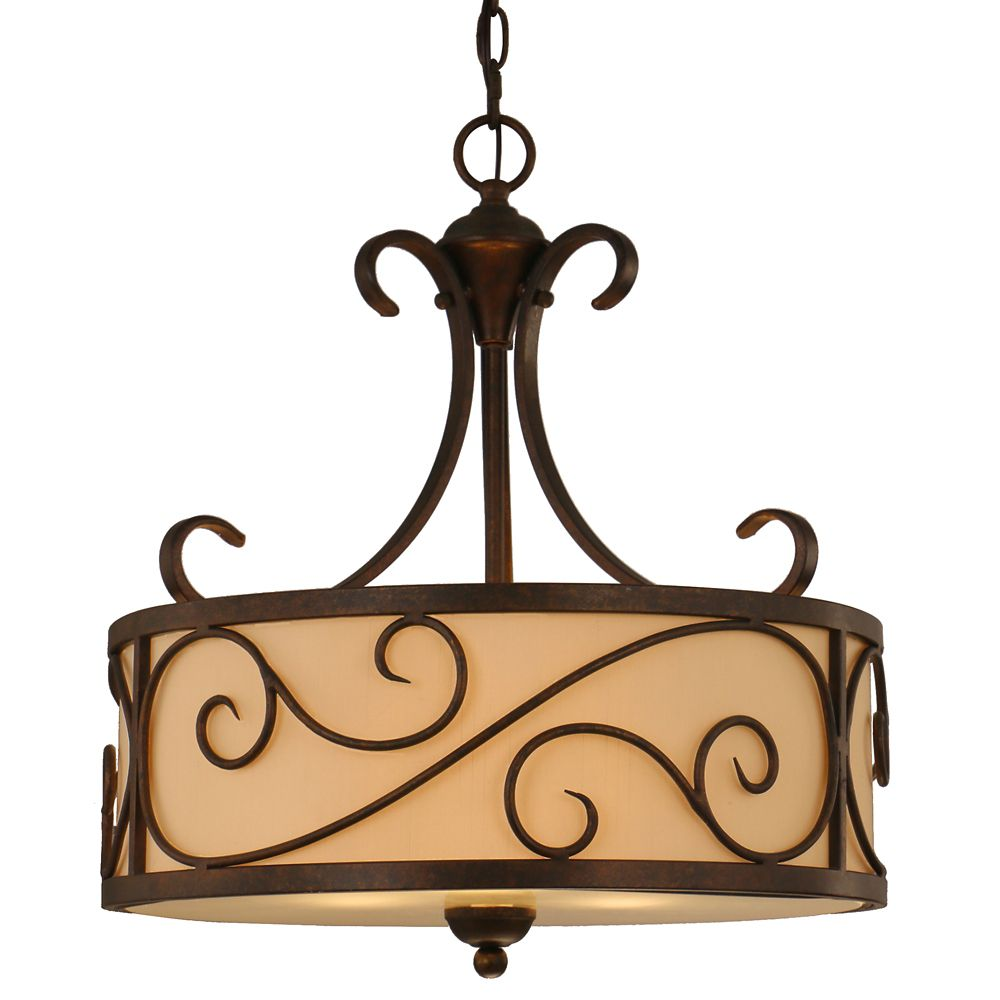 Karina 3 Light 18 Inch Pendant