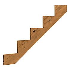 Treated Wood 5 Step Stringer