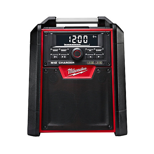 Radio/chargeur de batteriesM18 pour chantier sans fil, au Li-ion, avec Bluetooth