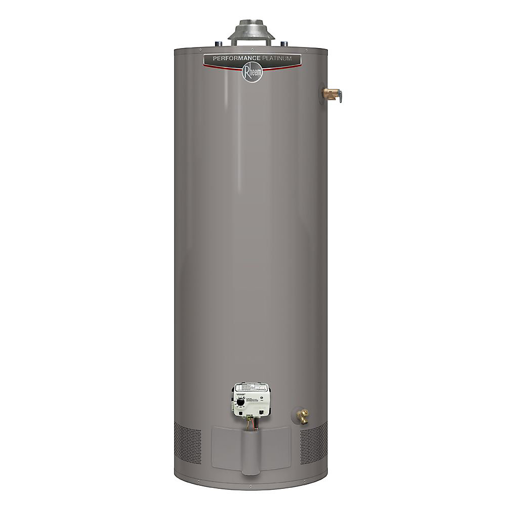 Performance Platinum 60 Gal Gas Water Heater with 12 Year Warranty